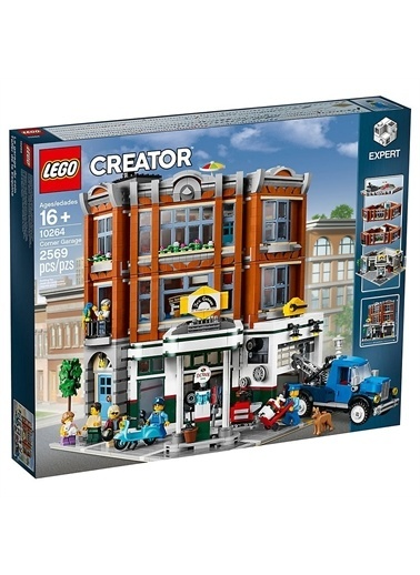 Lego Lego Creator Exşert 10264 Corner Garage Renkli